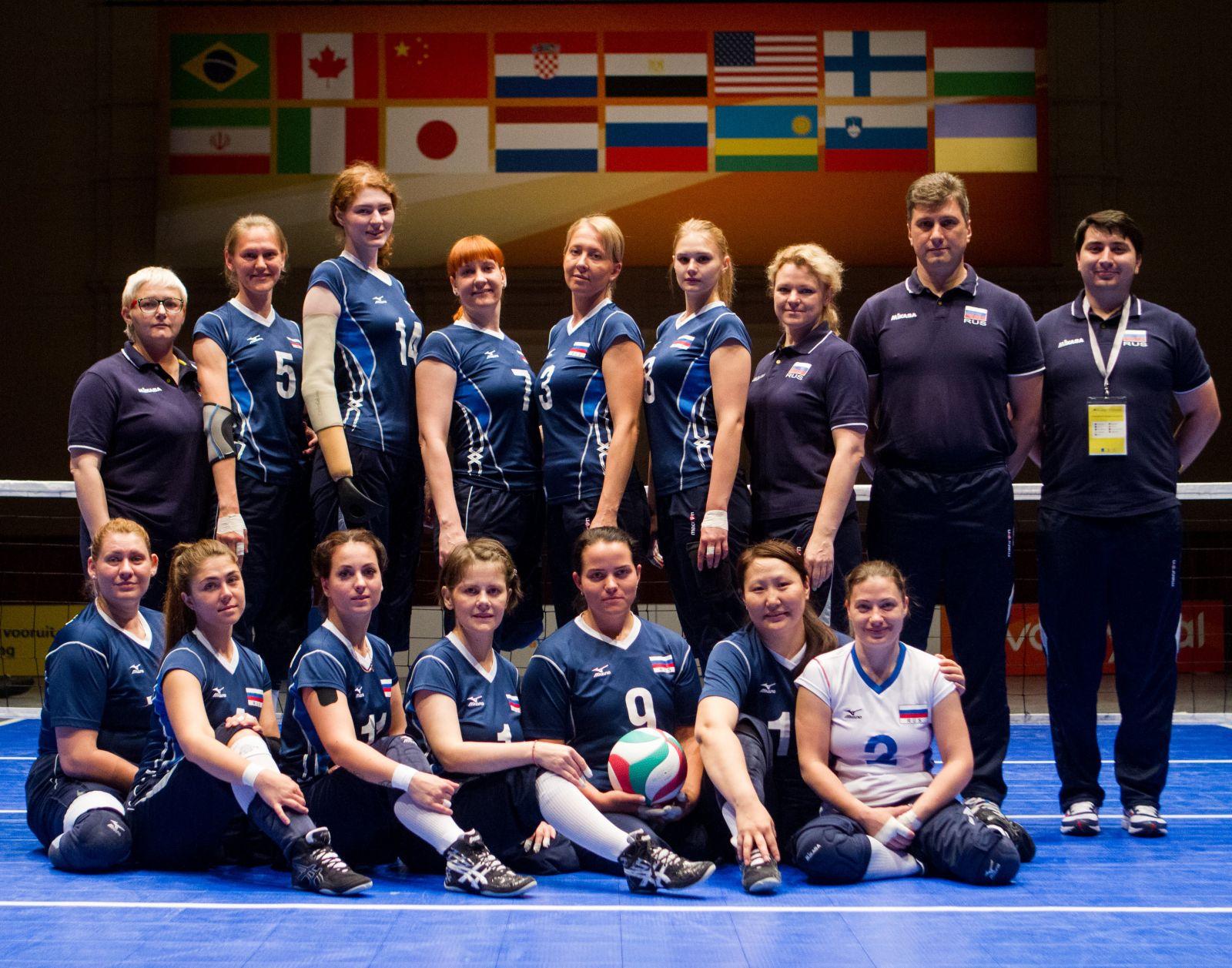 Женская сборная команда России по волейболу сидя примет участие в международных соревнованиях в Венгрии