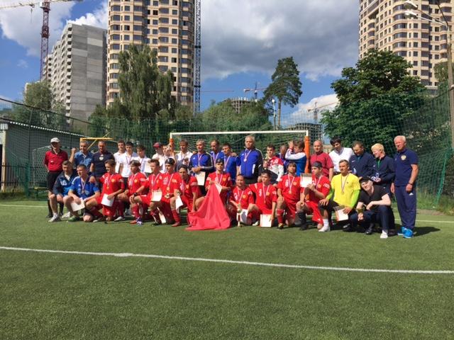 Сборная Московской области вновь стала победителем чемпионата России по мини-футболу 5х5 (класс В1 – тотально слепые)