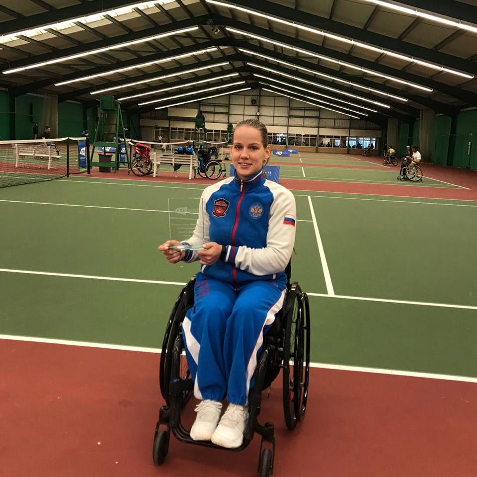 #тренимвместе с чемпионкой Европы, многократным победителем международных соревнований по теннису на колясках Викторией Львовой