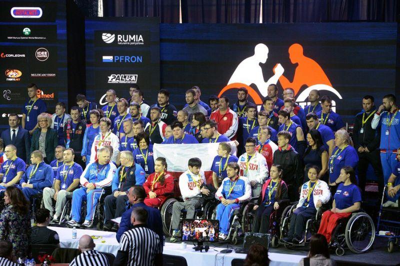 Российские спортсмены одержали командную победу на чемпионате мира по армспорту в Польше