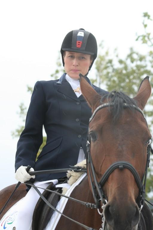 Сборная команда России по конному спорту среди лиц с поражением опорно-двигательного аппарата принимает участие во Всемирных конных играх  в г. Нормандии (Франция)