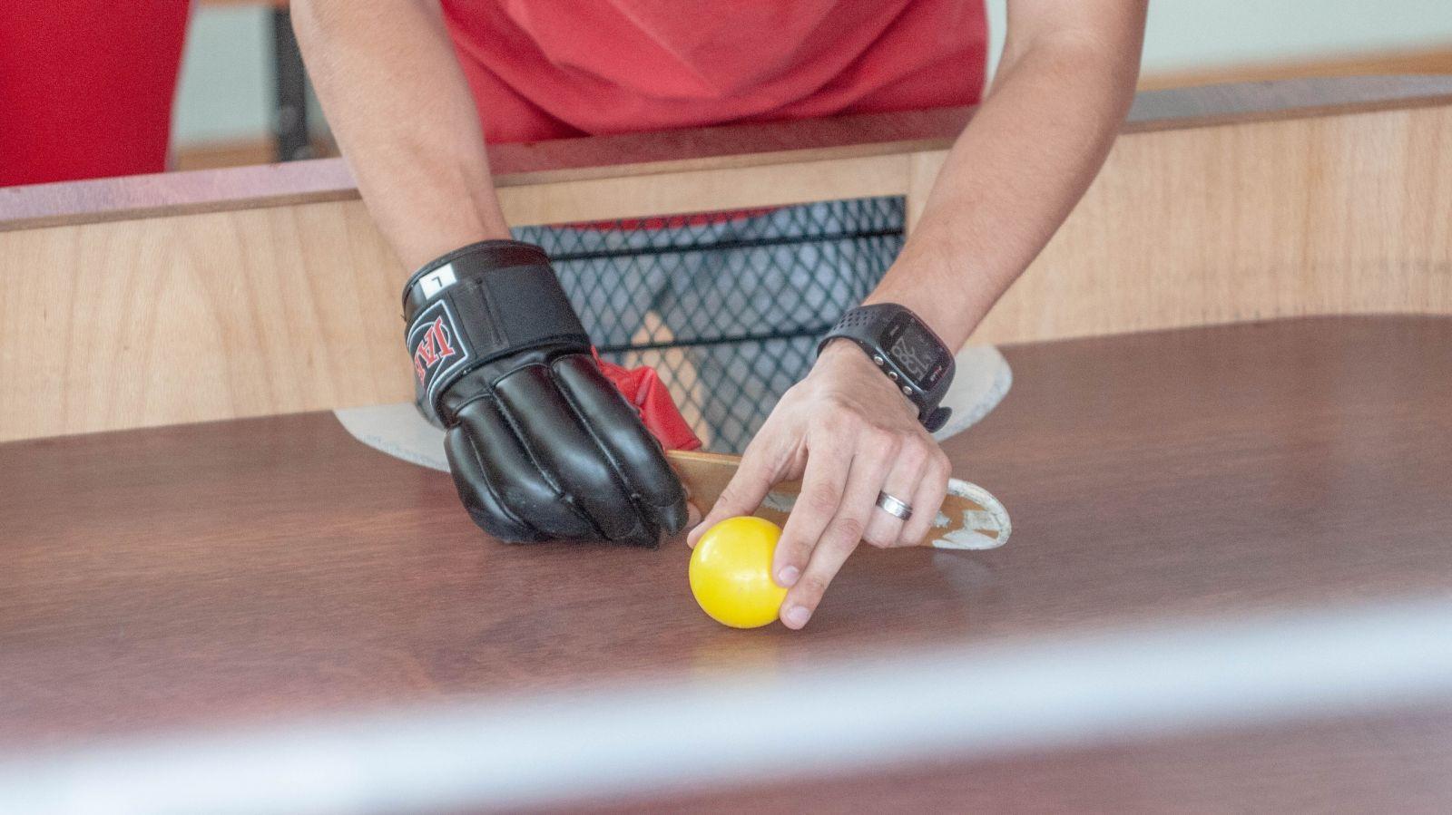 2 серебряные медали завоевала сборная команда России по настольному теннису спорта слепых на международных соревнованиях в Латвии