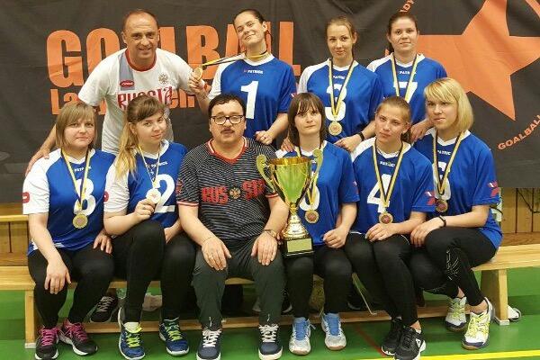 Женская сборная России по голболу защитила титул чемпиона престижного турнира в Швеции