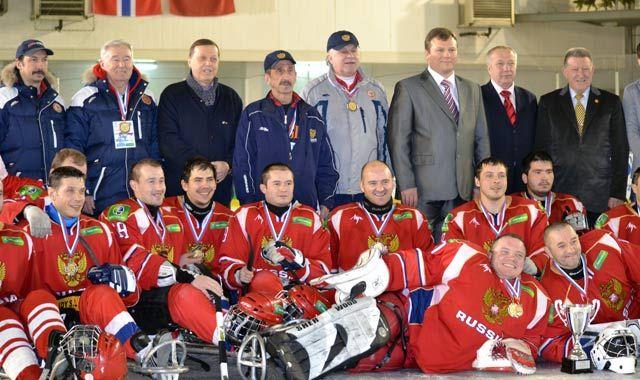 В городе Подольске  завершился  II  международный турнир по хоккею-следж