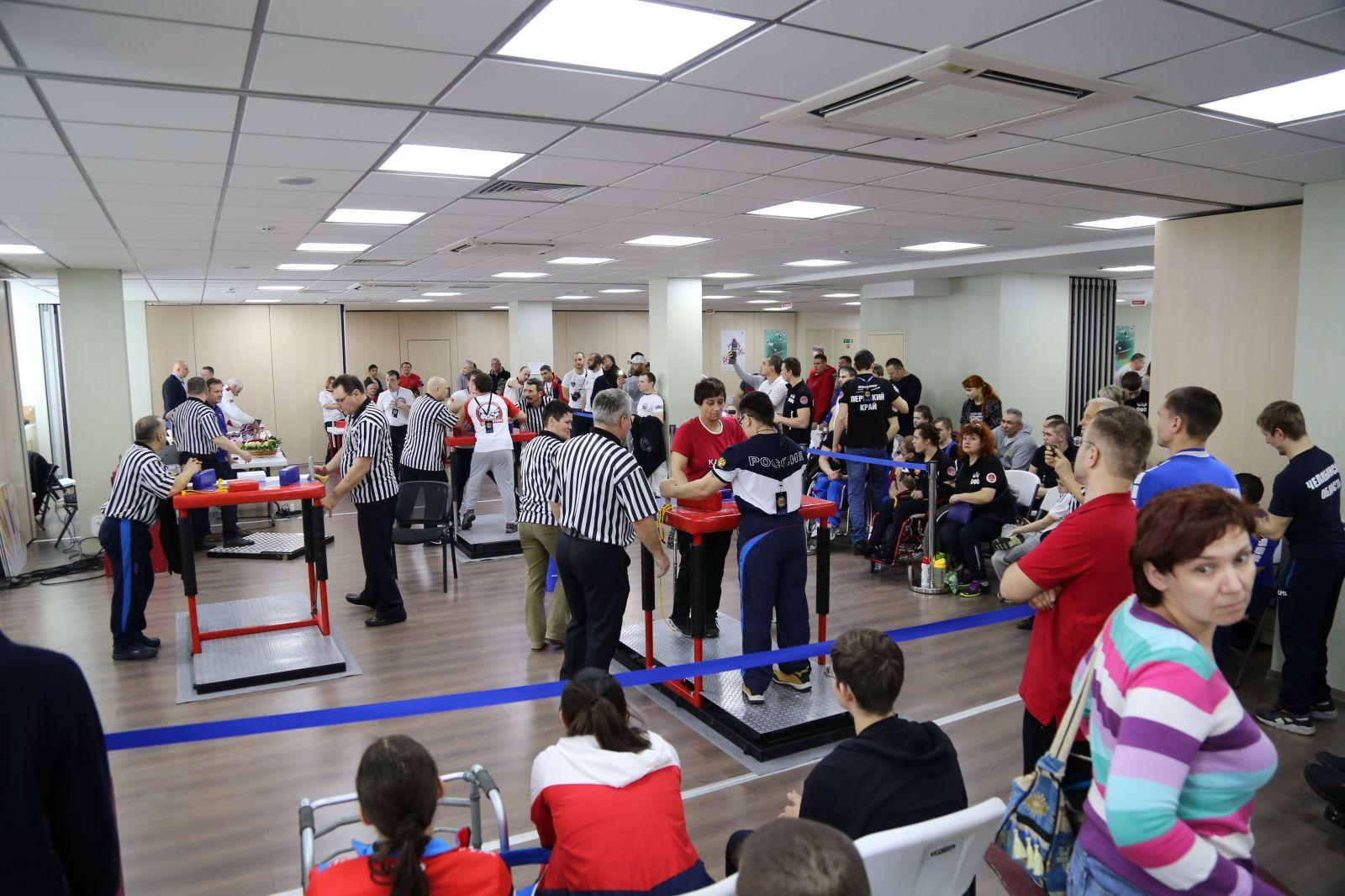 Спортсмены из Московской области победили в общекомандном зачете чемпионата России по армрестлингу спорта лиц с ПОДА