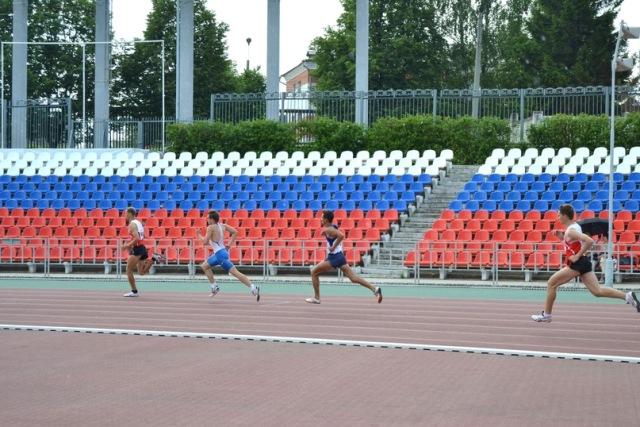 В г. Чебоксары  завершился второй день  Чемпионата России по легкой атлетике Федерации спорта слепых