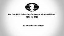 CHESS PLAYER FROM SMOLENSK TOOK THE 3RD PLACE ON THE FIRST FIDE ONLINE CUP FOR PEOPLE WITH DISABILITIES