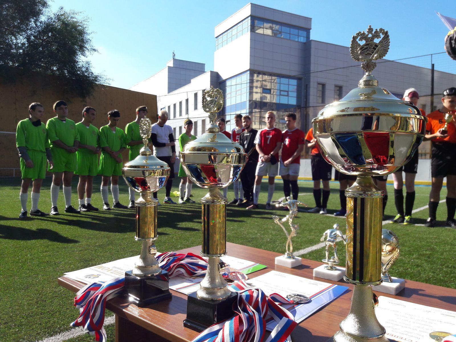 Сборная Московской области стала победителем первенства России по футболу 5х5 (класс В1, тотально-слепые спортсмены) в Раменском