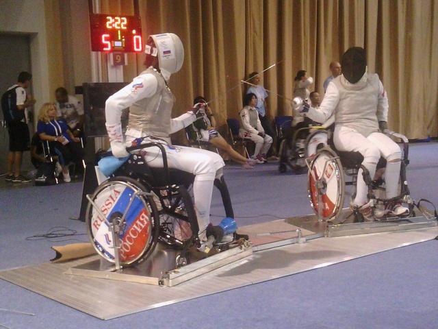 В г. Будапеште (Венгрия) стартовал чемпионат мира по фехтованию на колясках