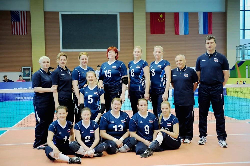 Женская сборная команда России по волейболу сидя примет участие в международных соревнованиях в Латвии