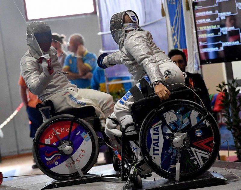 Российские спортсмены завоевали 18 медалей на Кубке мира по фехтованию на колясках в Италии