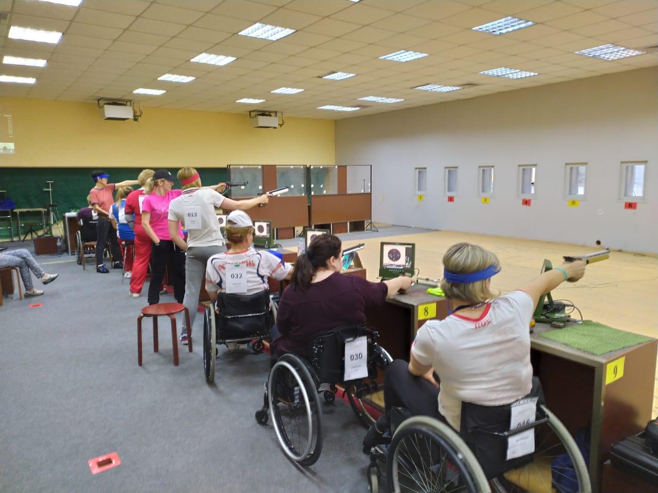 В Краснодаре завершились Кубок и первенство России по пулевой стрельбе спорта лиц с ПОДА