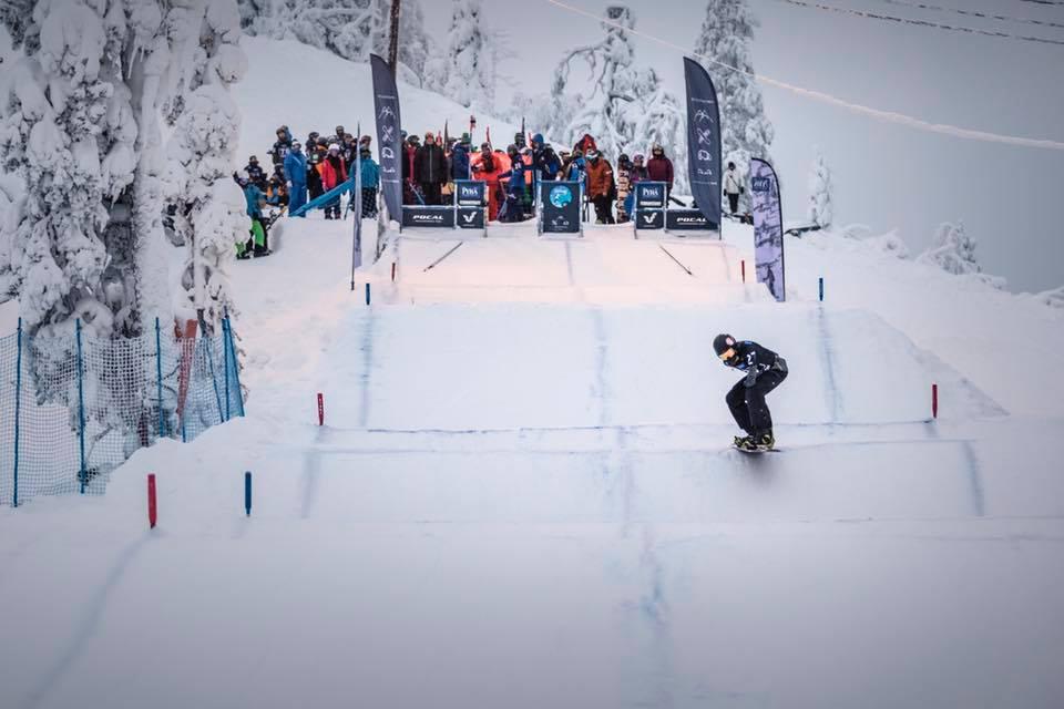 Российские парасноубордисты приняли участие в Кубке мира в Финляндии