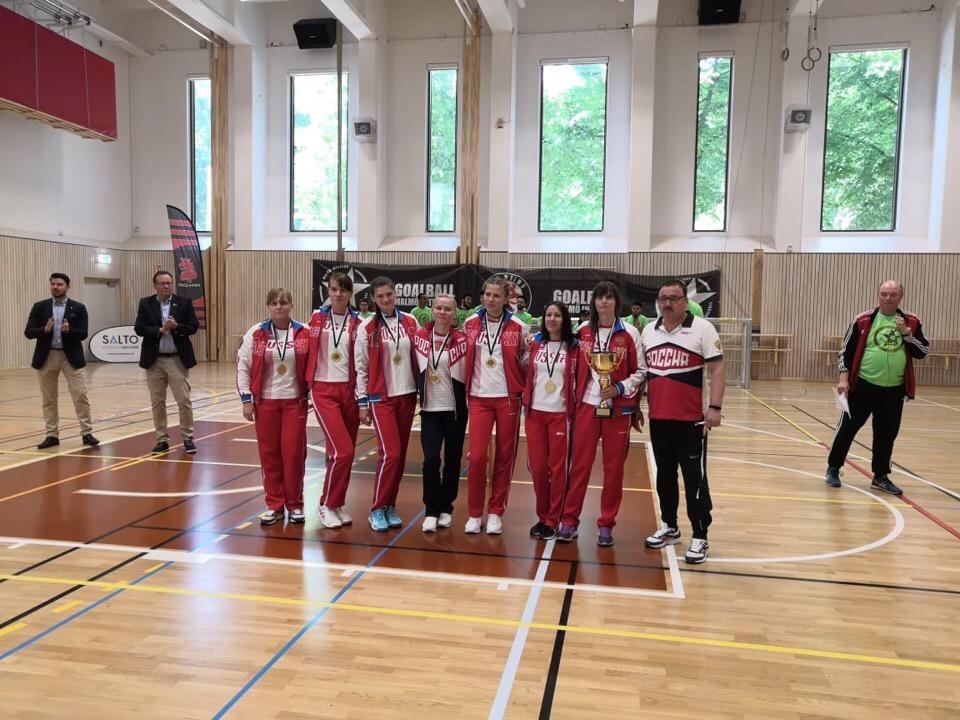 Женская сборная команда России стала победителем международного турнира по голболу спорта слепых - Malmo Lady and Men Intercup 2019