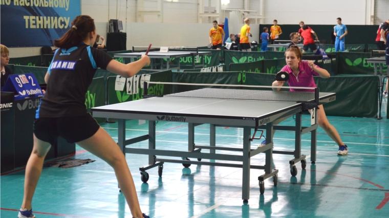 Определены победители первенства России по настольному теннису спорта лиц с ПОДА в Чебоксарах