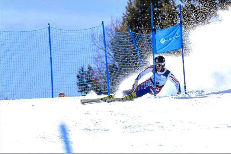 Сильнейшие спортсмены страны вступают в борьбу за награды чемпионата России по горнолыжному спорту среди лиц с ПОДА