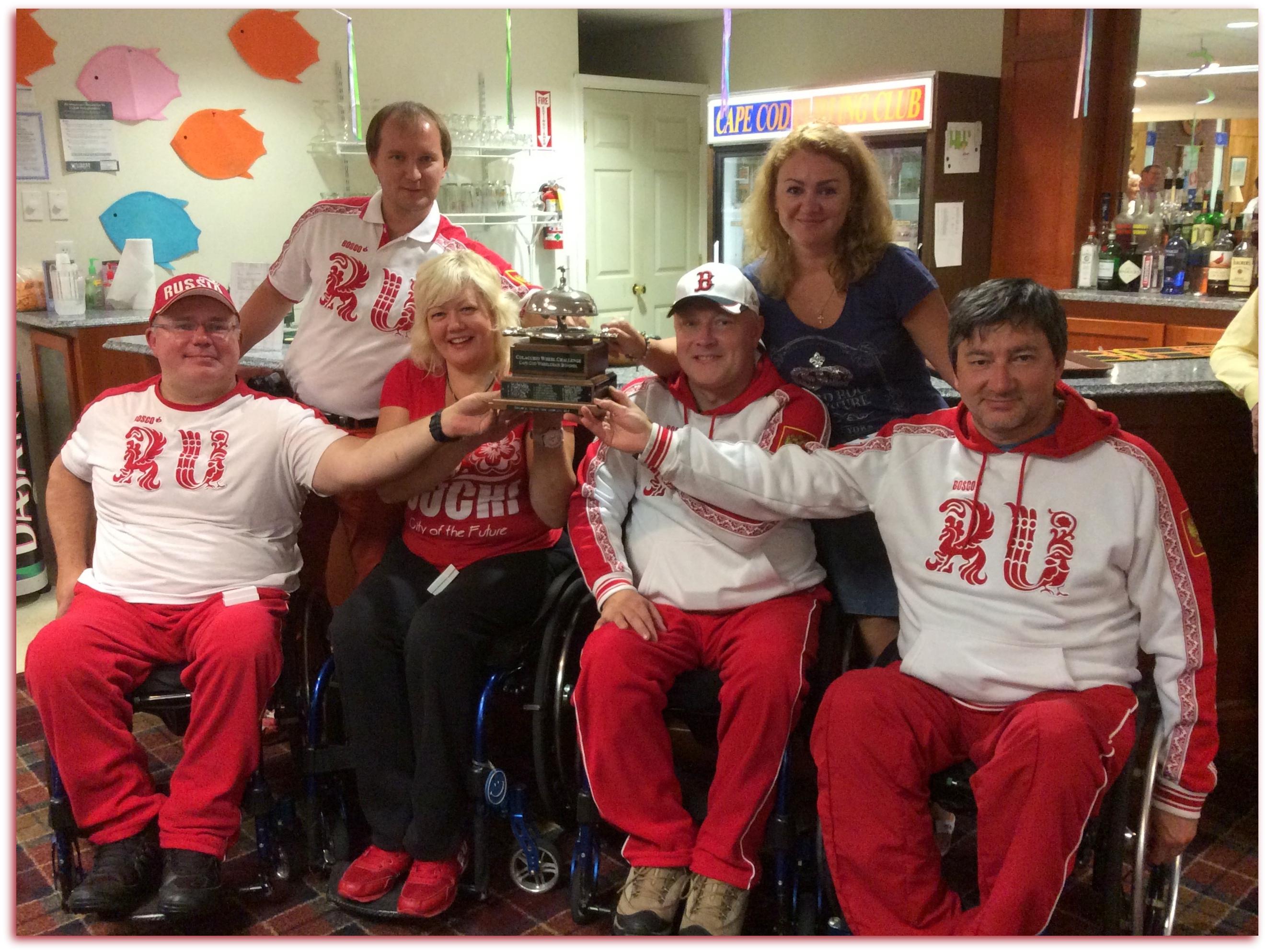 Сборная команда России по керлингу на колясках выиграла международный турнир в США