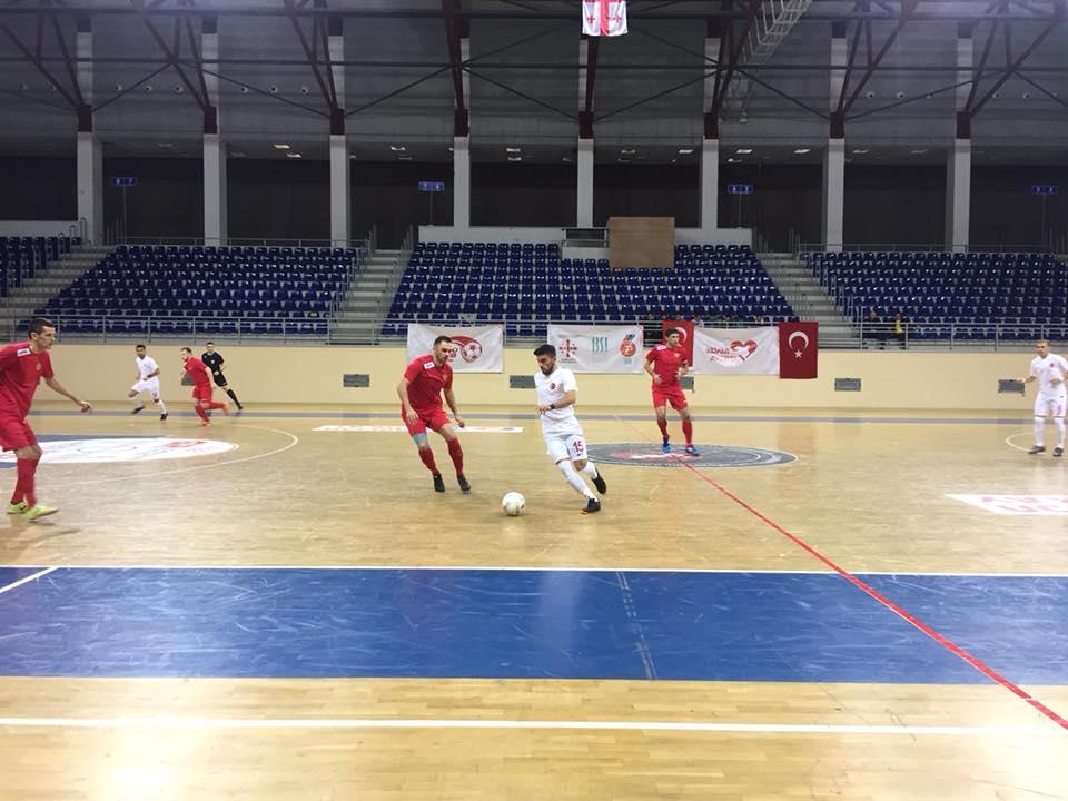 Сборная команда России по футзалу спорта слепых стала серебряным призером чемпионата Европы в Грузии