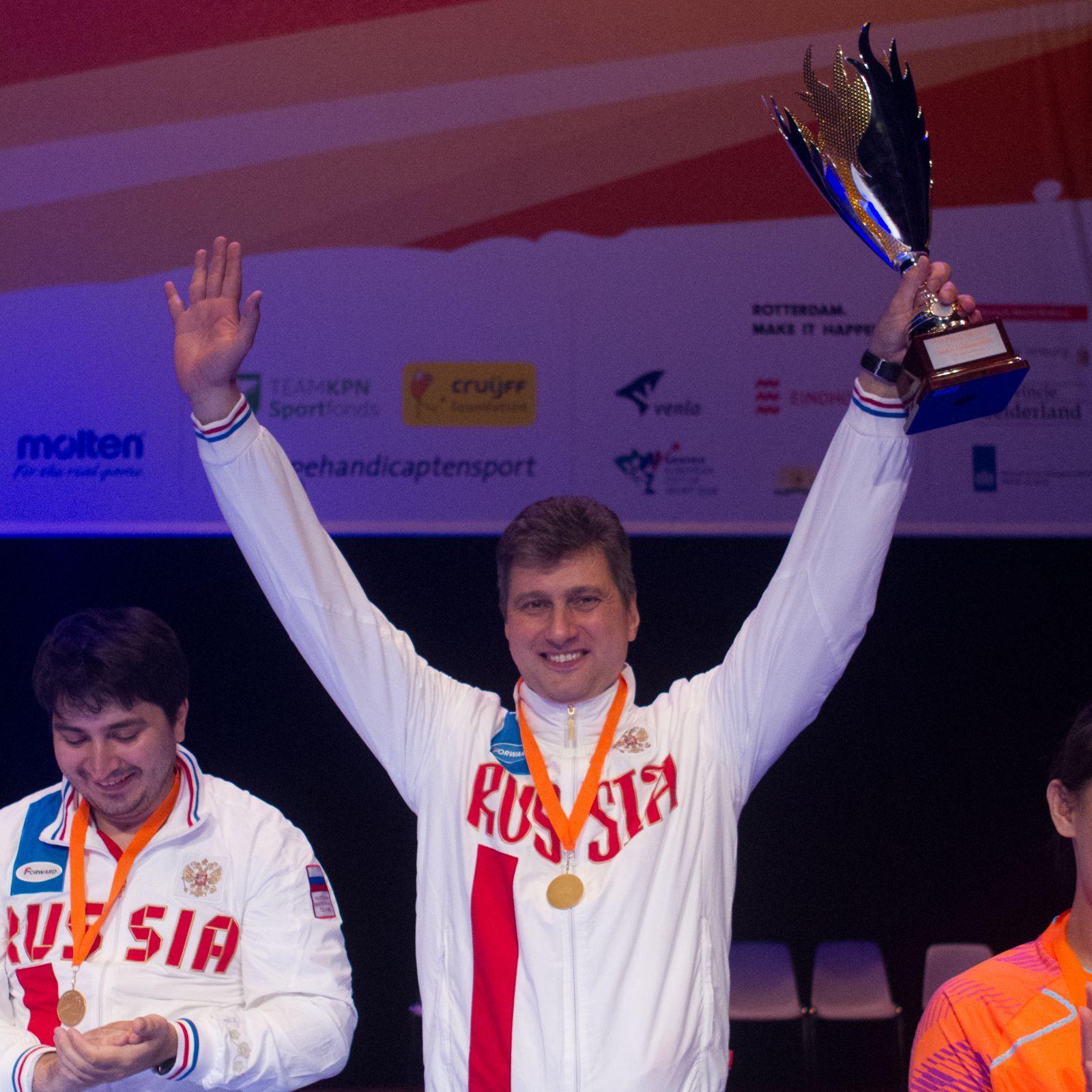 Александр Овсянников, старший тренер сборной России по волейболу сидя: честно признаюсь, мы даже не рассчитывали на то, что выиграем чемпионат мира