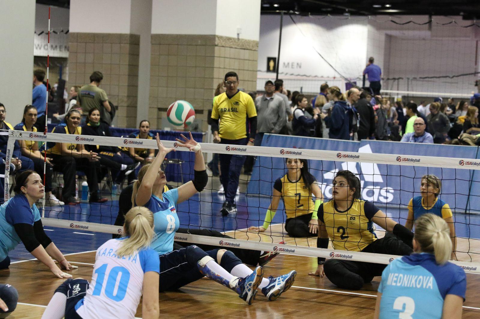 Старший тренер сборной команды России по волейболу сидя А.Н. Овсянников: «В США мы поехали играть с сильнейшими командами мира – сборной США и Бразилии»
