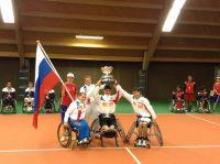 Молодежная сборная команда России по теннису на колясках награждена премией «Русский Кубок»