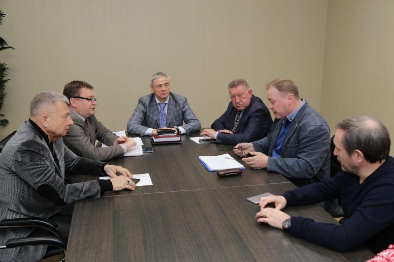 П.А. Рожков в офисе ПКР провел рабочую встречу с президентом Союза Тхэквондо России А.К. Тереховым