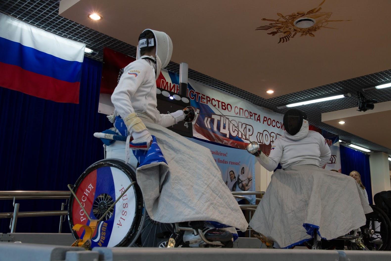 В Московской области на спортивной базе «Озеро Круглое» состоится чемпионат России по фехтованию на колясках