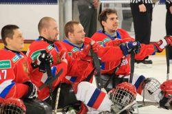 Сборная команда России по хоккею-следж обыграла сборную команду Германии со счетом 10:0 в последнем матче группового этапа чемпионата мира в США