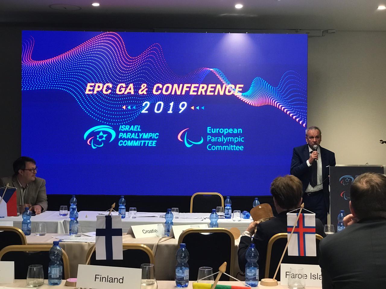 В.П. Лукин, П.А. Рожков в г. Натанья (Израиль) приняли участие в Генеральной Ассамблее Европейского паралимпийского комитета