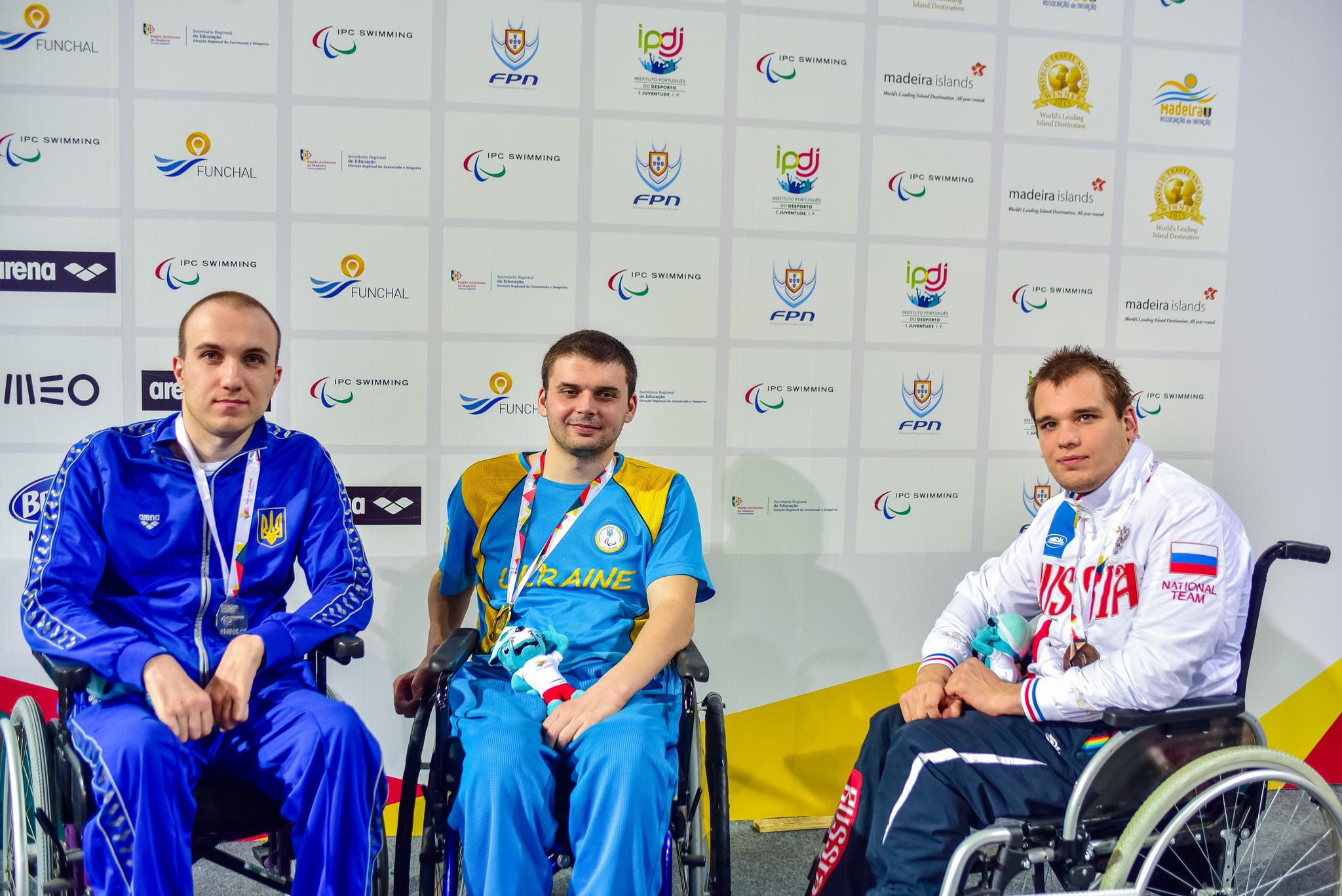 Россияне выиграли 30 золотых медалей, 30 серебряных и 25 бронзовых на чемпионате Европы по плаванию спорта лиц с ПОДА, нарушением зрения и ИН в Португалии