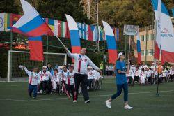 Российские спортсмены завоевали 123 золотых медаль, 105 серебряных и 95 бронзовых, с большим отрывов выиграв общекомандный зачет на Всемирных играх IWAS-2015 в Сочи