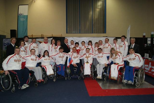 В г. Мальхове (Германия) завершился Кубок мира по фехтованию на колясках