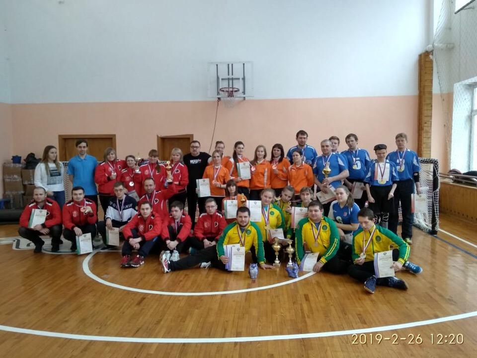 Мужская сборная Новосибирской области и женская сборная Краснодарского края стали победителями чемпионата России по торболу спорта слепых
