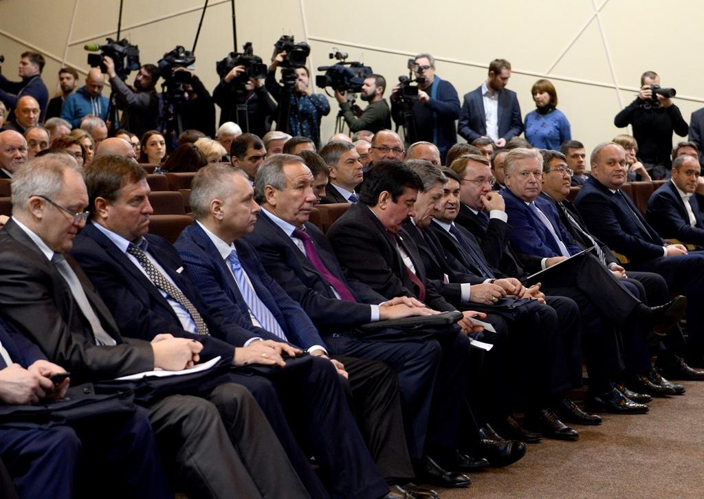 Л.Н. Селезнев в Олимпийском комитете России принял участие в заседании очередного Олимпийского собрания