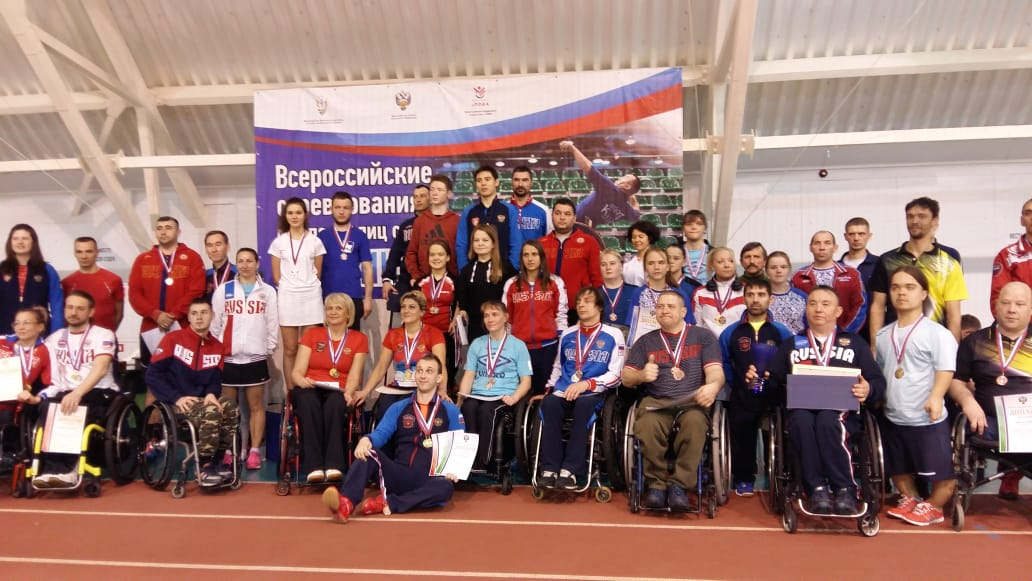 Команды Санкт-Петербурга и Чувашии завоевали наибольшее количество медалей на 1 этапе Кубка России по парабадминтону