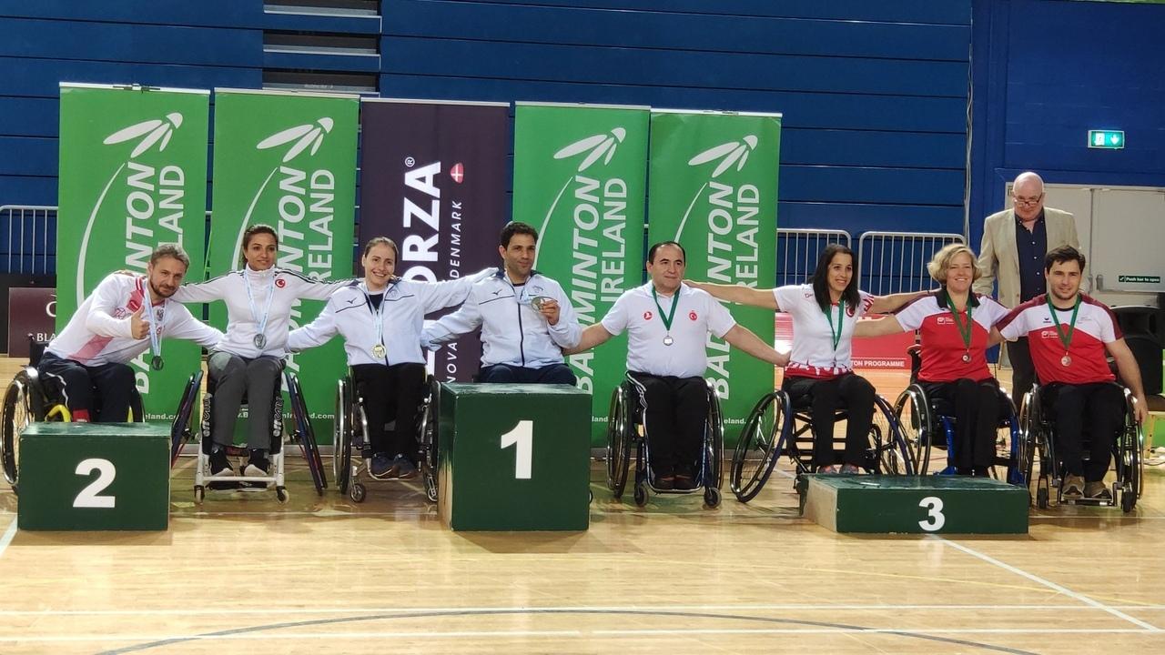 Серебряную и бронзовую медали завоевали российские парабадминтонисты на международных соревнованиях в Ирландии