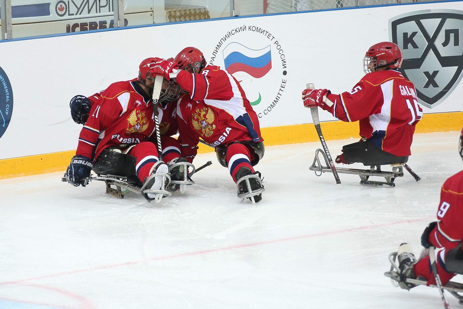 Паралимпийская сборная команда России по хоккею-следж примет участие в чемпионате мира МПК в группе B с 14 по 23 ноября 2019 года в Берлине