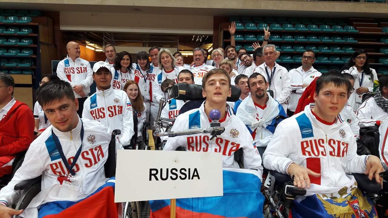 Сборная России завоевала золотую, две серебряные и бронзовую награды на чемпионате Европы по бочча в Португалии