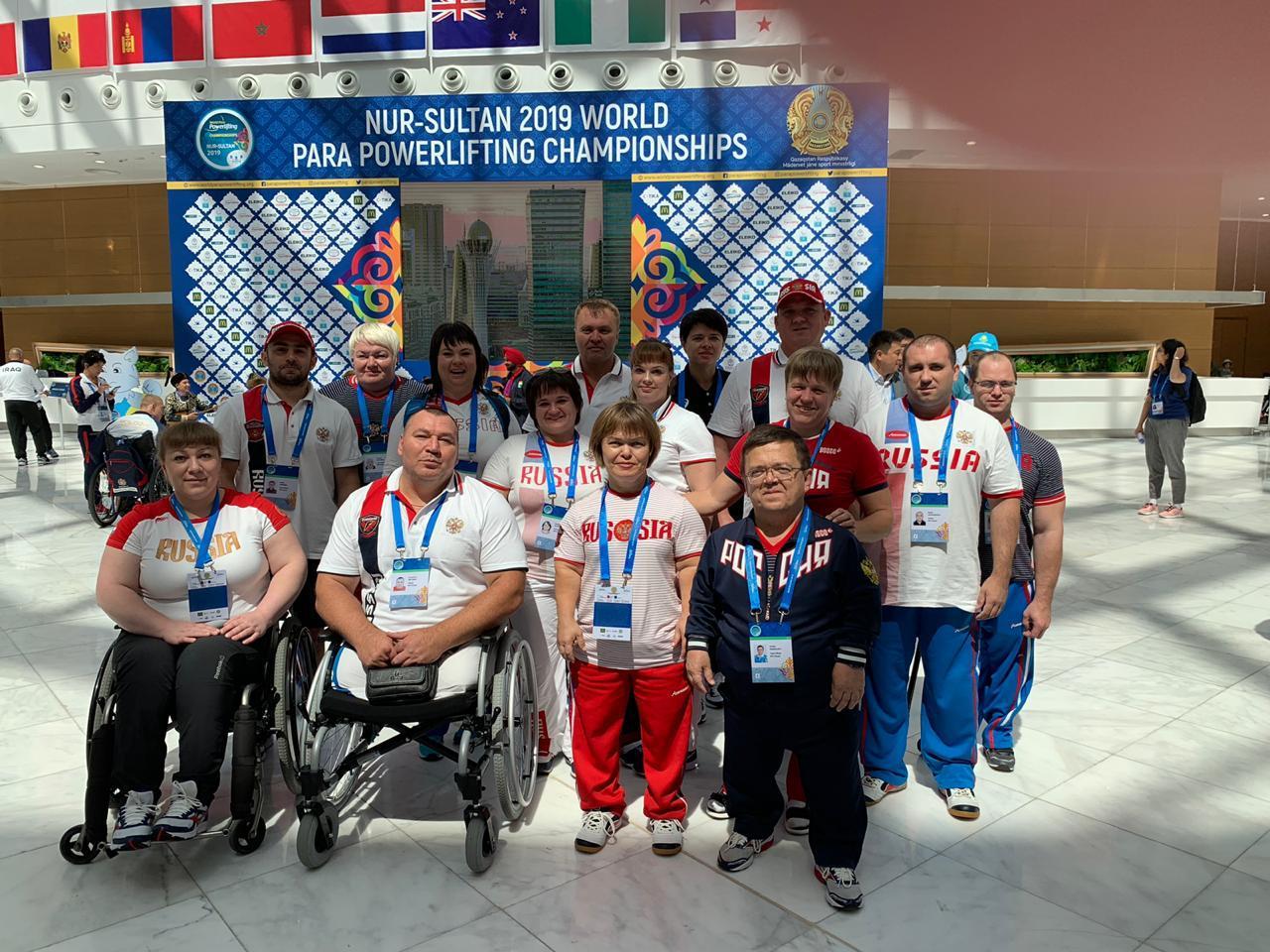 В Казахстане состоялась церемония открытия чемпионата мира по пауэрлифтингу спорта лиц с ПОДА