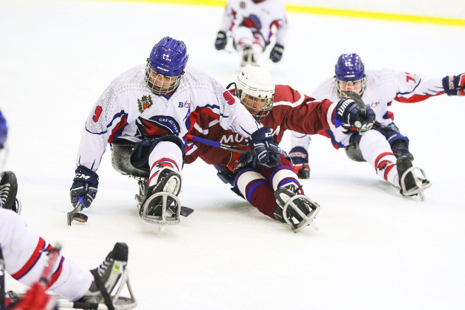 Второй круг чемпионата России по следж-хоккею стартовал 17 марта на РУТБ «Ока» в г. Алексине