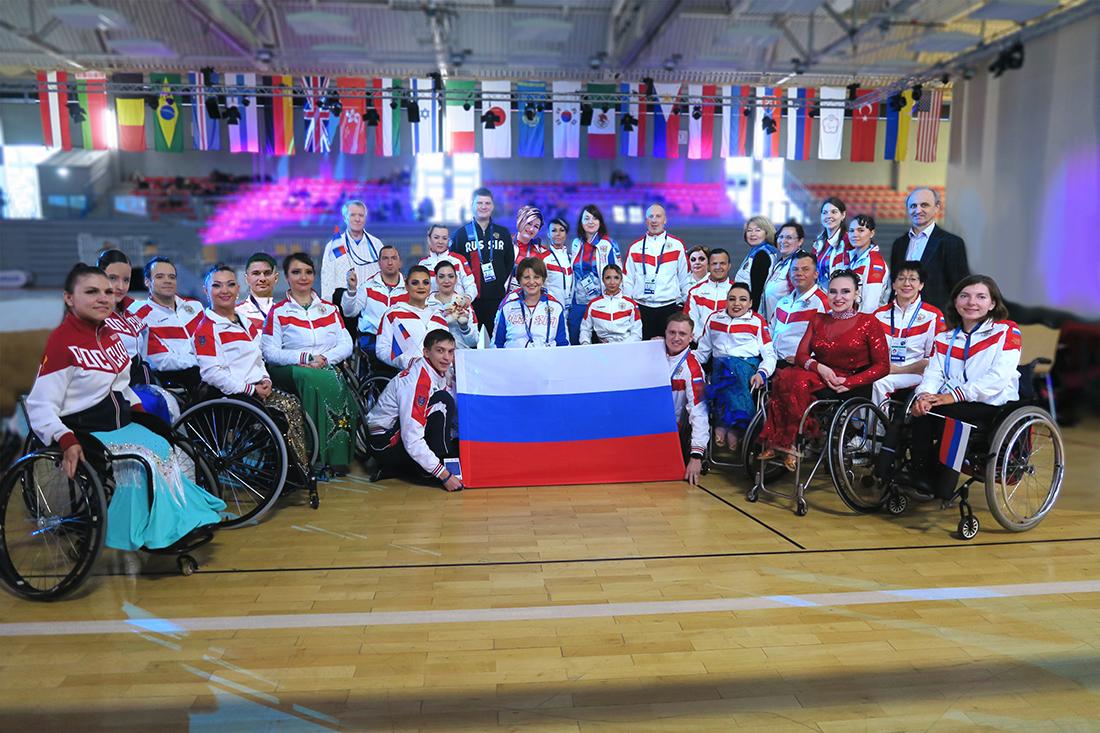 Сборная команда России по танцам на колясках выиграла медальный зачет чемпионата мира в Германии