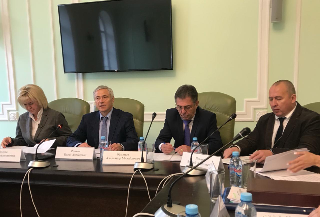 П.А. Рожков в Минспорте России провел заседание отраслевой комиссии по регулированию социально-трудовых отношений в сфере физической культуры и спорта