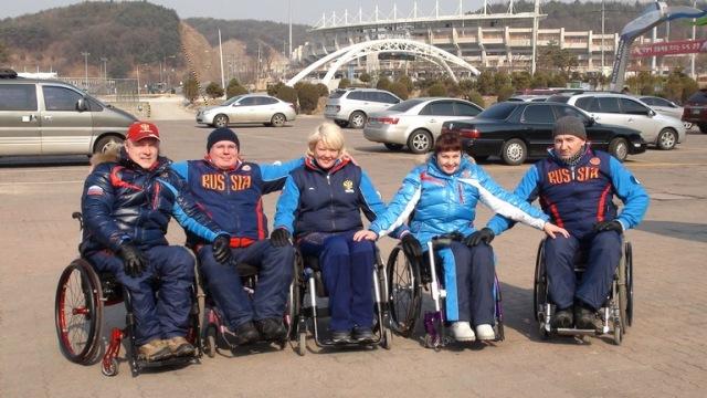 в Южной Корее прошел третий день  Чемпионата Мира по керлингу на колясках