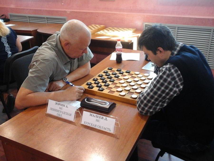 Сборная Ленинградской области впервые стала победительницей командного чемпионата России по шашкам спорта слепых