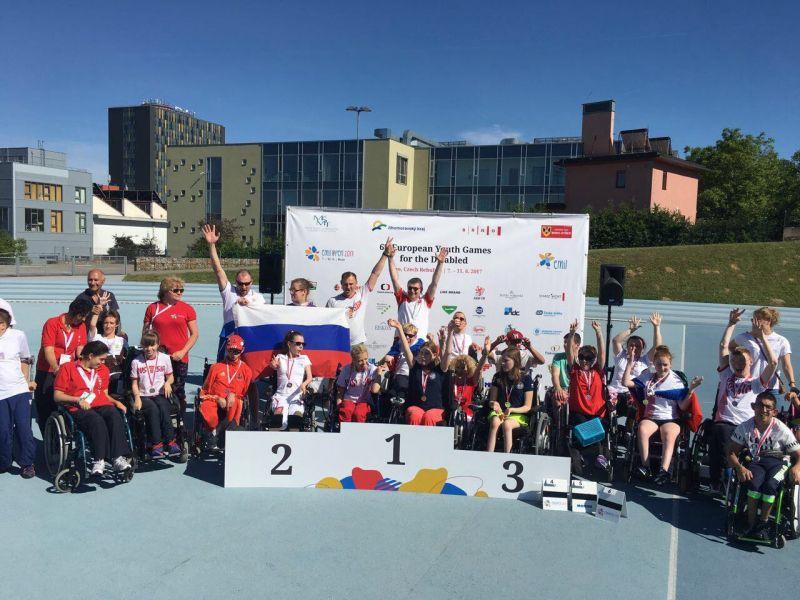 Спортсмены сборной России по бочча завоевали четыре золотые медали на VI Европейских играх молодежи в Чехии
