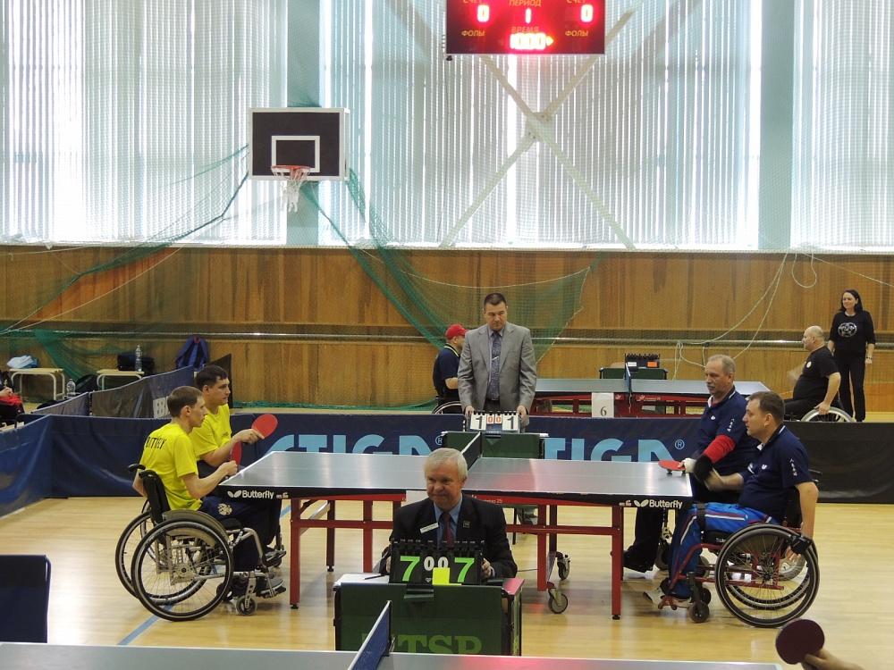 В г. Алексине на РУТБ «ОКА» стартовал чемпионат России по настольному теннису спорта лиц с ПОДА среди спортсменов, выступающих сидя