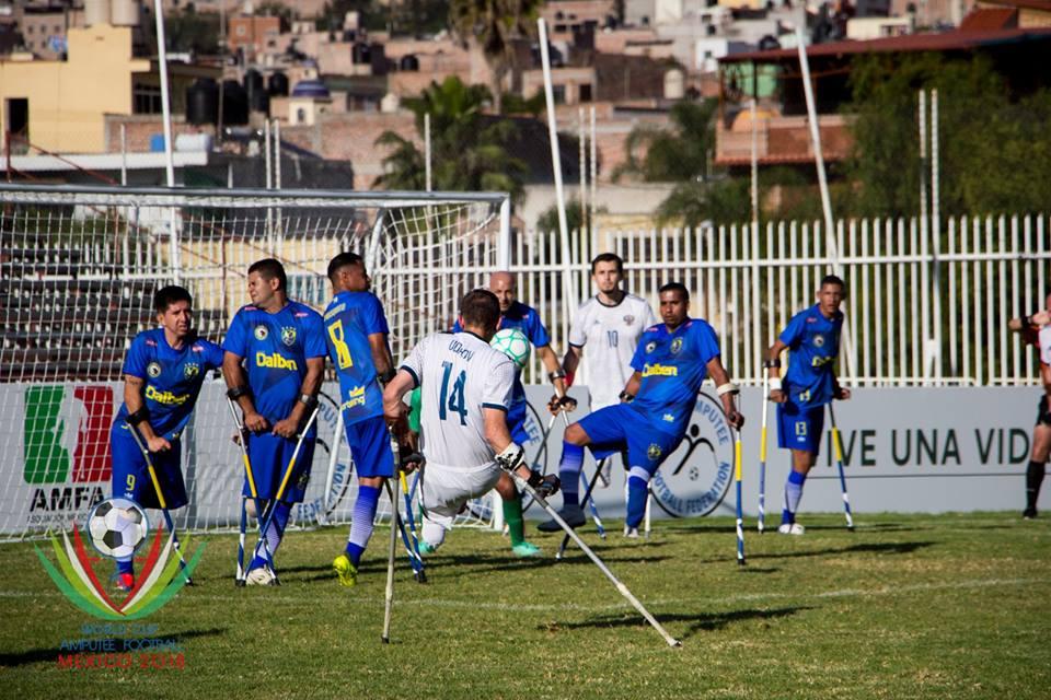 Сборная команда России заняла 5 место на чемпионате мира по футболу ампутантов в Мексике