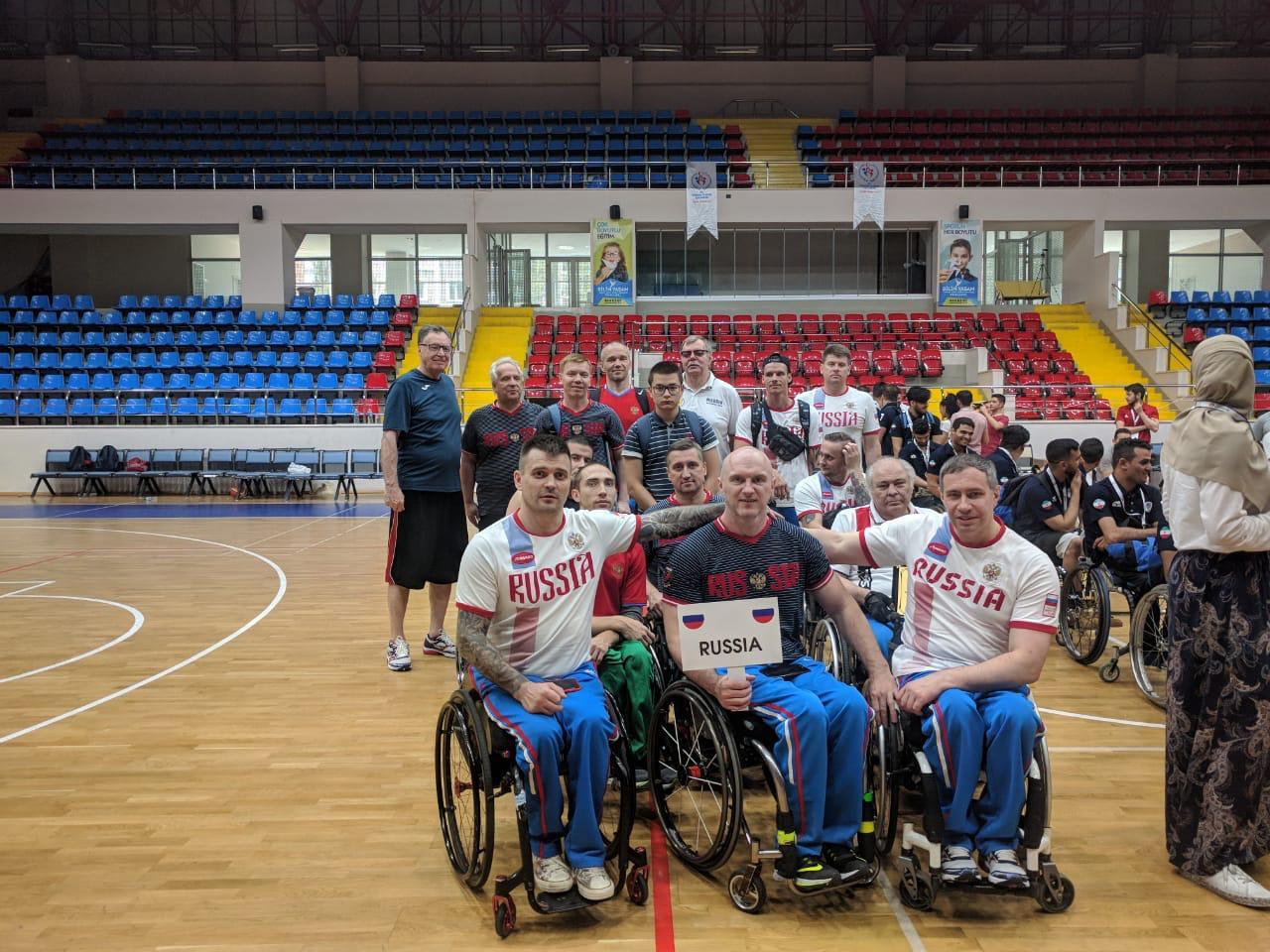 Сборная команда России по баскетболу на колясках в Турции приняла участие в Кубке Стамбула
