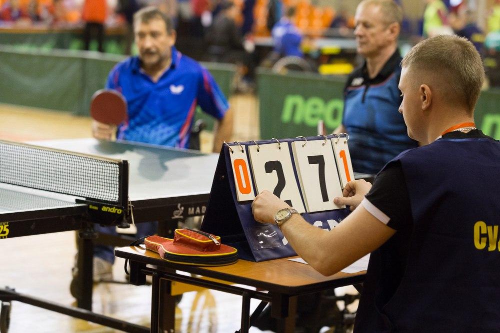 Анастасия Зорина и Максим Чижов стали победителями абсолютного первенства на Всероссийских соревнованиях по настольному теннису среди лиц с ПОДА в Великом Новгороде