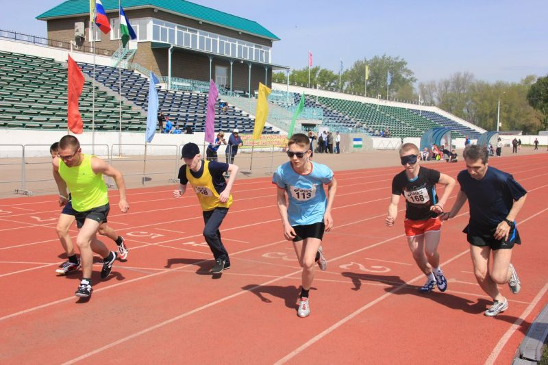 Определены победители первенства России по легкой атлетике спорта слепых в Башкирии